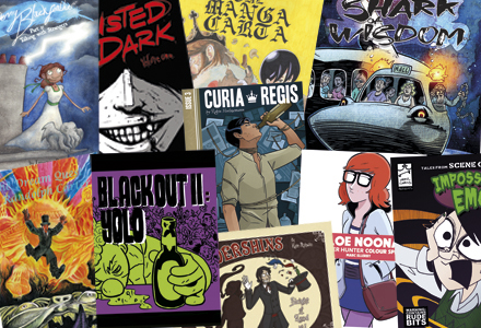 We printed these. Recognise any of them? Email us with a photo of page 6 of any of these comics to get 10% off your next order!