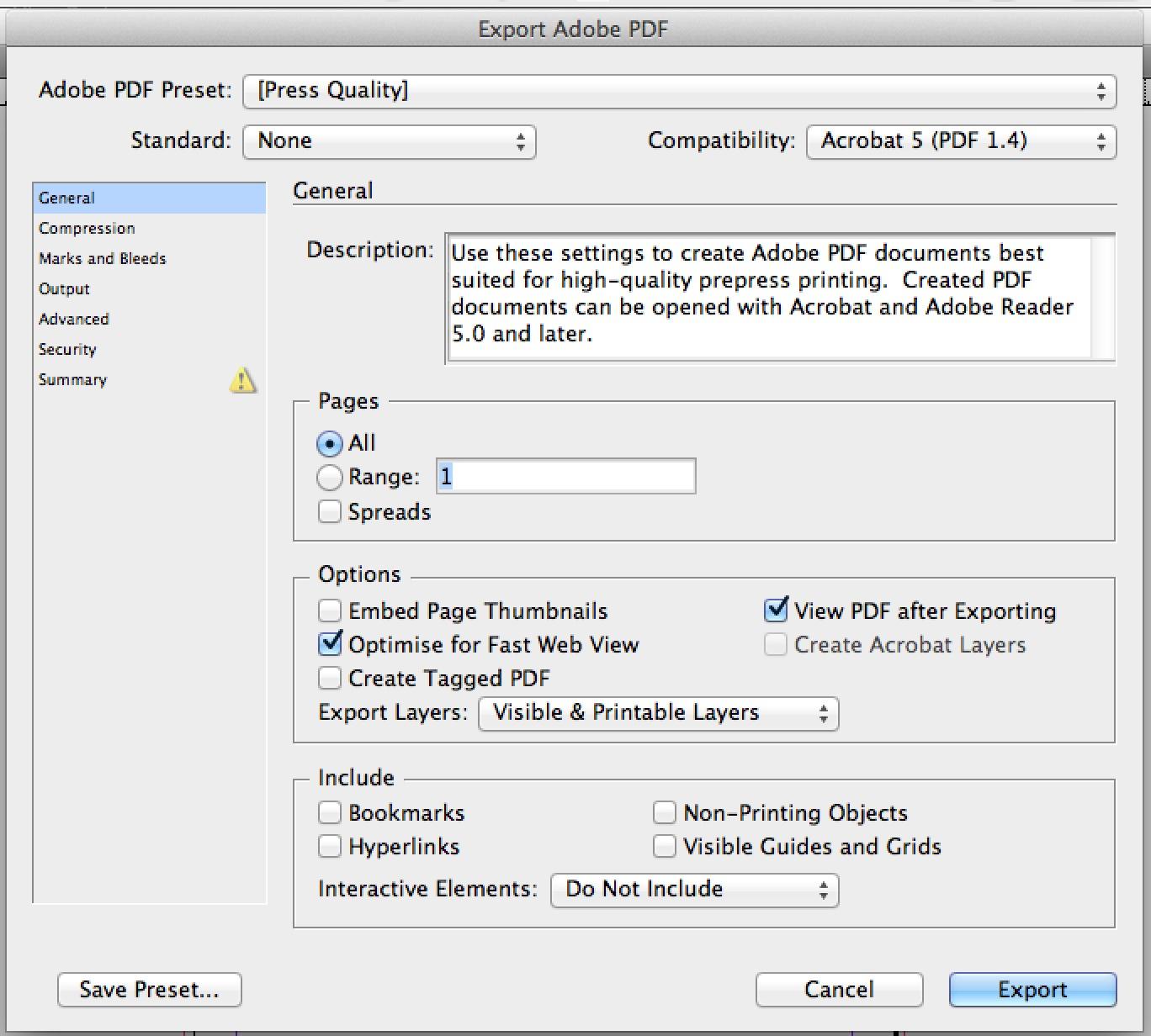 PDF Dialog